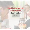 Cuperus Haal het beste uit je koffiezet: 13 november - 10u tot 12u