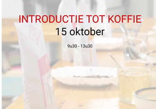 Cuperus Introductie tot koffie - 15 oktober - 9u30 tot 13u30