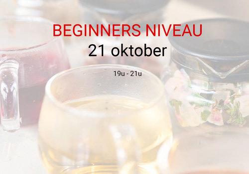 Cuperus Thee-opleiding beginner: 21 oktober van 19u tot 21u