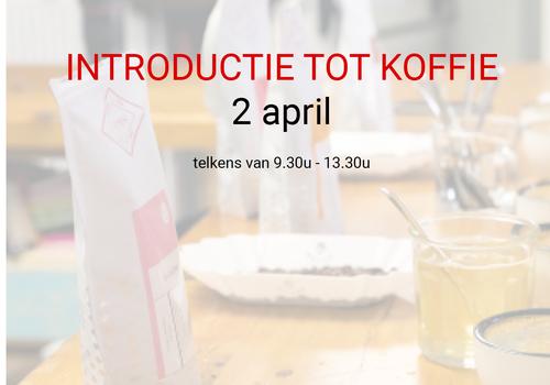 Cuperus Introductie tot koffie - 2 april - 9u30 tot 13u30