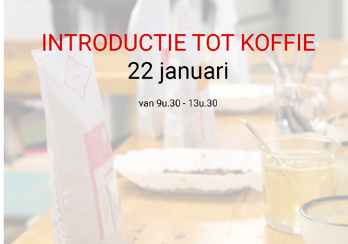 Cuperus Introductie tot koffie - 22 januari - 9u30 tot 13u30
