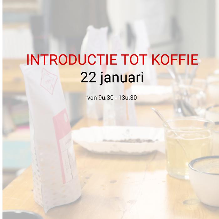Introductie tot koffie - 22 januari - 9u30 tot 13u30