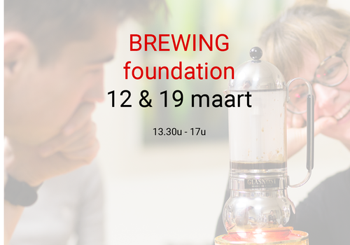 Cuperus Brewing foundation: 12 &19 maart- 13u30 tot 17u