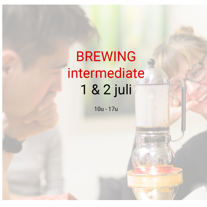 Brewing intermediate - 1 & 2 juli - 10u tot 17u