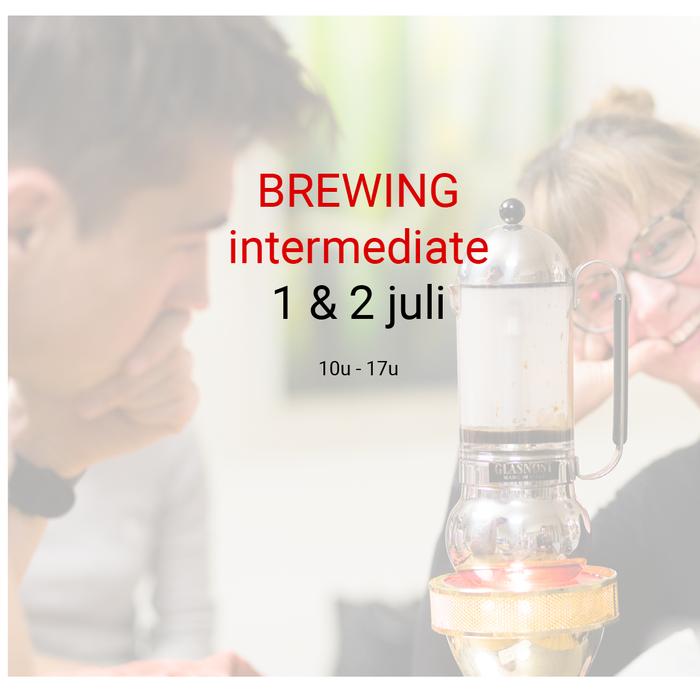 Brewing intermediate - 1 en 2 juli - 10u tot 17u