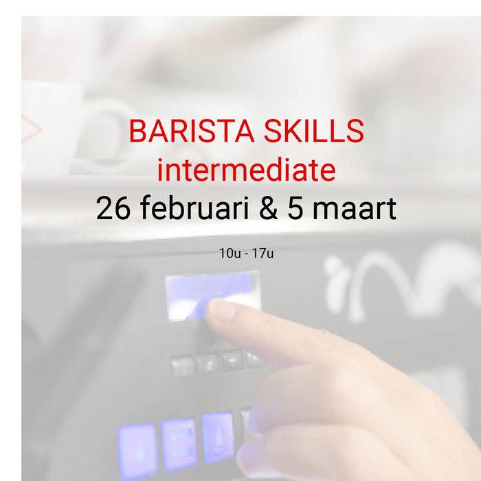 Barista intermediate: 26 februari en 5 maart - 10u tot 17u
