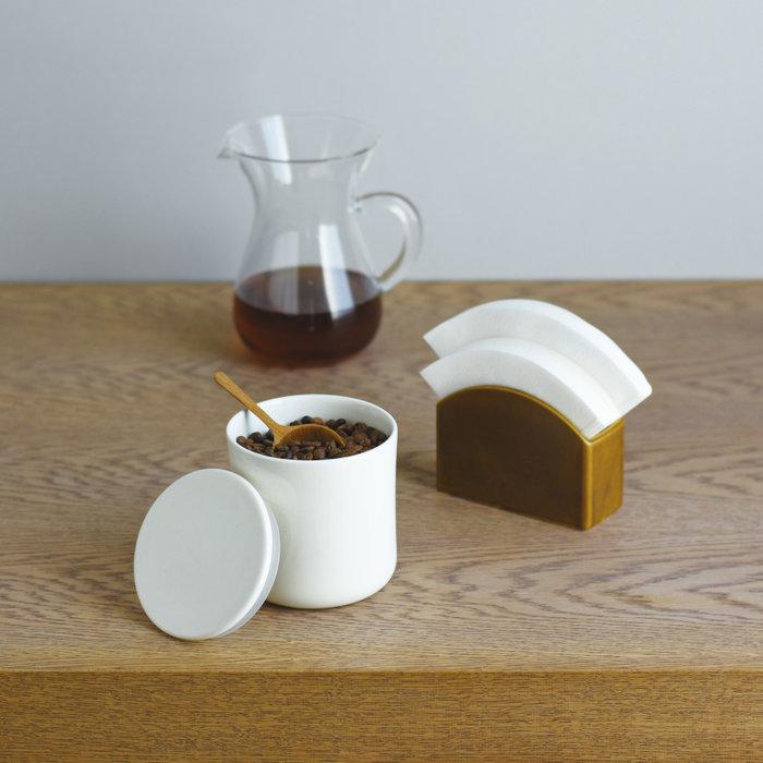 Kinto koffie voorraadpot 600ml (white)