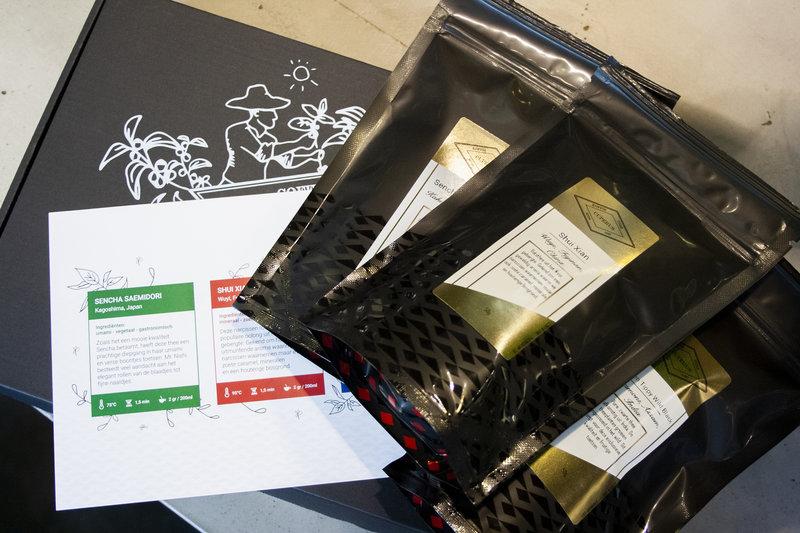 Speciality tea experience box