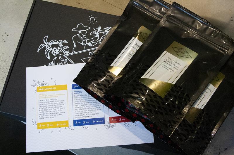 Cosy tea experience box