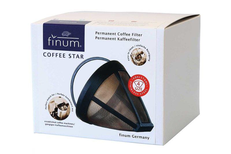 Finum permanente koffiefilter