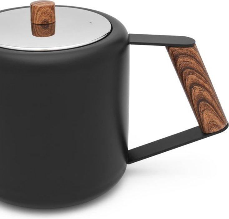 Bredemeijer theepot Boston (mat zwart)
