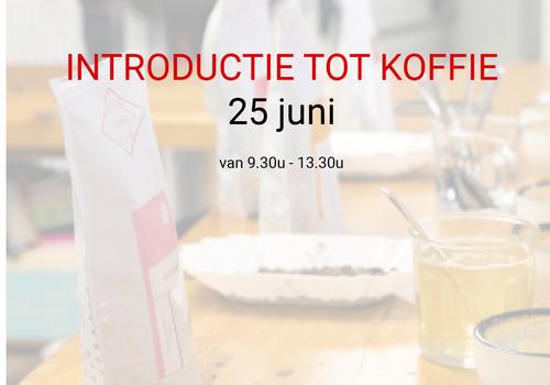 Cuperus Introductie tot koffie - 25 juni - 9u30 tot 13u30