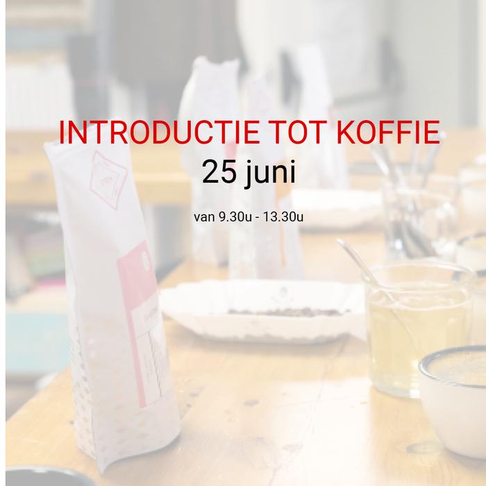 Introductie tot koffie - 6 mei - 9u30 tot 13u30