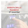 Cuperus Barista foundation - 27 november- 10u tot 17u