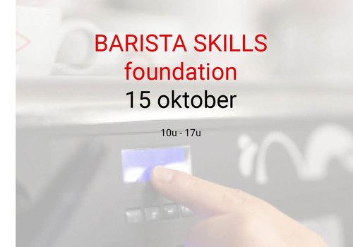 Cuperus Barista foundation - 15 oktober- 10u tot 17u