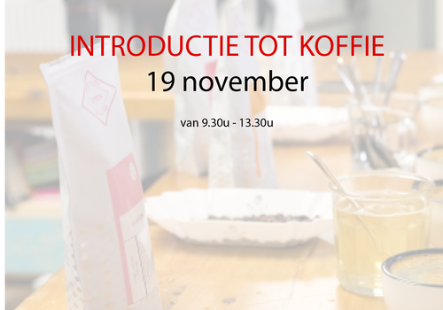Cuperus Introductie tot koffie - 19 november - 9u30 tot 13u30