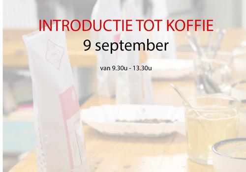 Cuperus Introductie tot koffie - 09 september - 9u30 tot 13u30