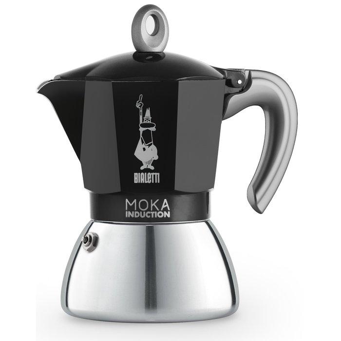 Moka Inductie (Zwart)