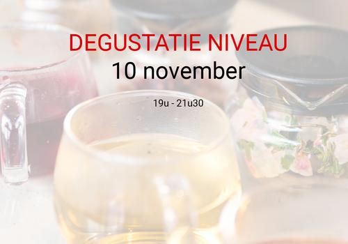 Cuperus Degustatie: 10 november van 19u tot 21u30