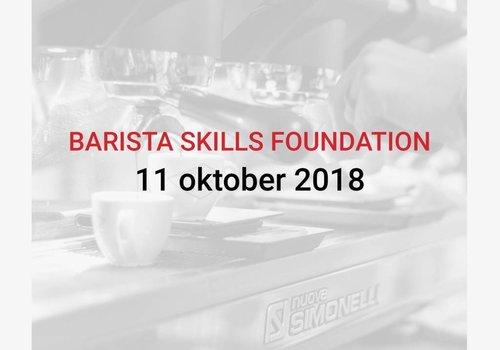Cuperus Barista Skills Foundation 11/10