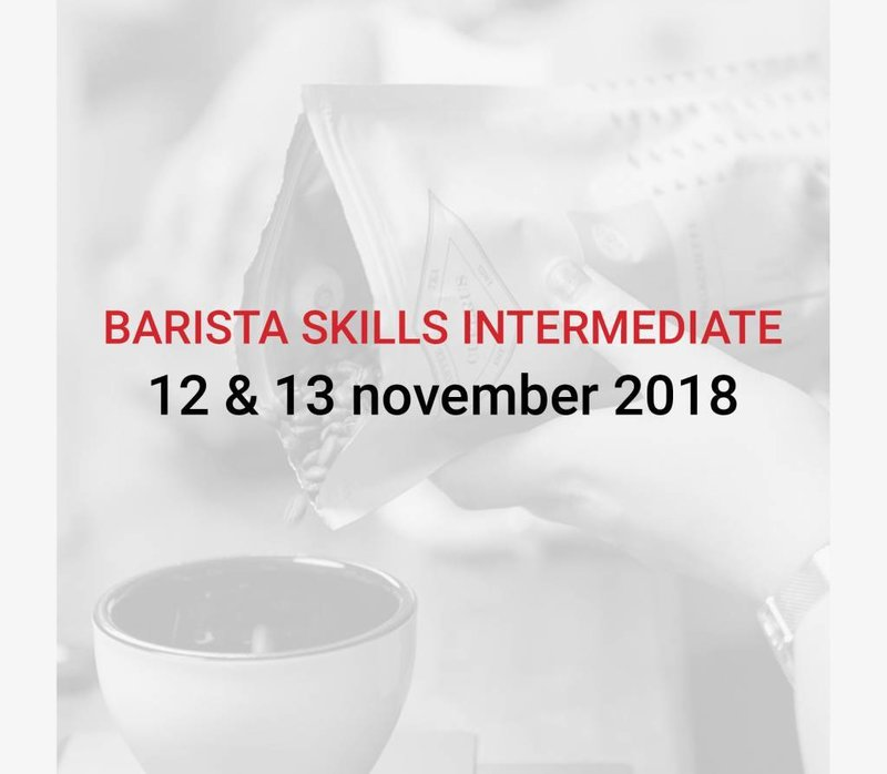 Barista Skills Intermediate (English)
