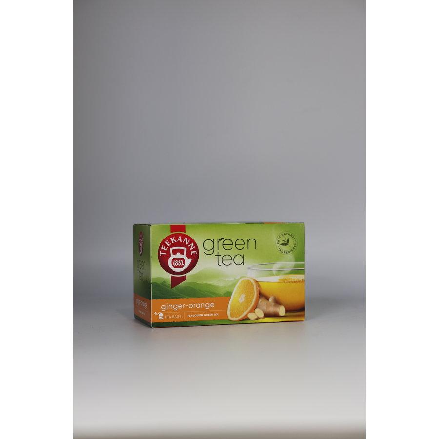 Green Tea Ginger-Orange