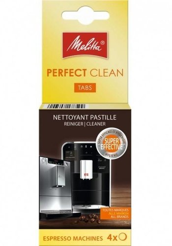 Melitta perfect clean tabs espresso