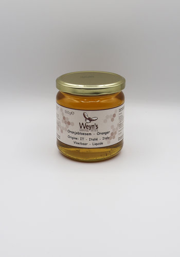 Oranjebloesem honing vloeibaar