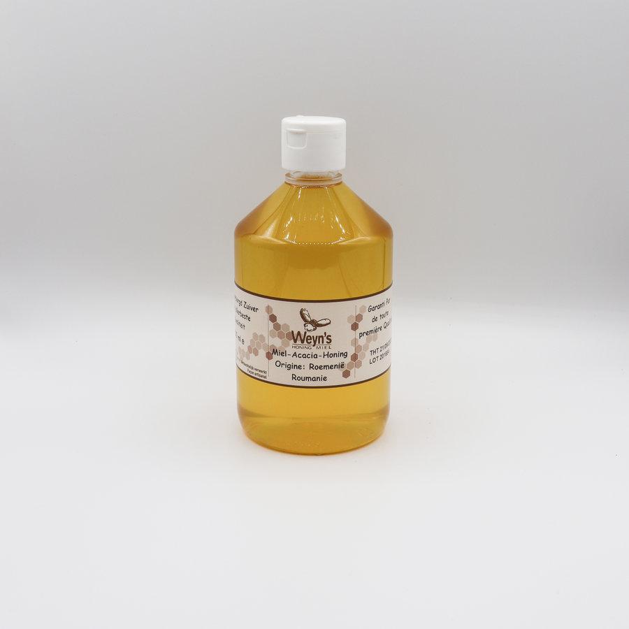 Acacia honing doseerfles