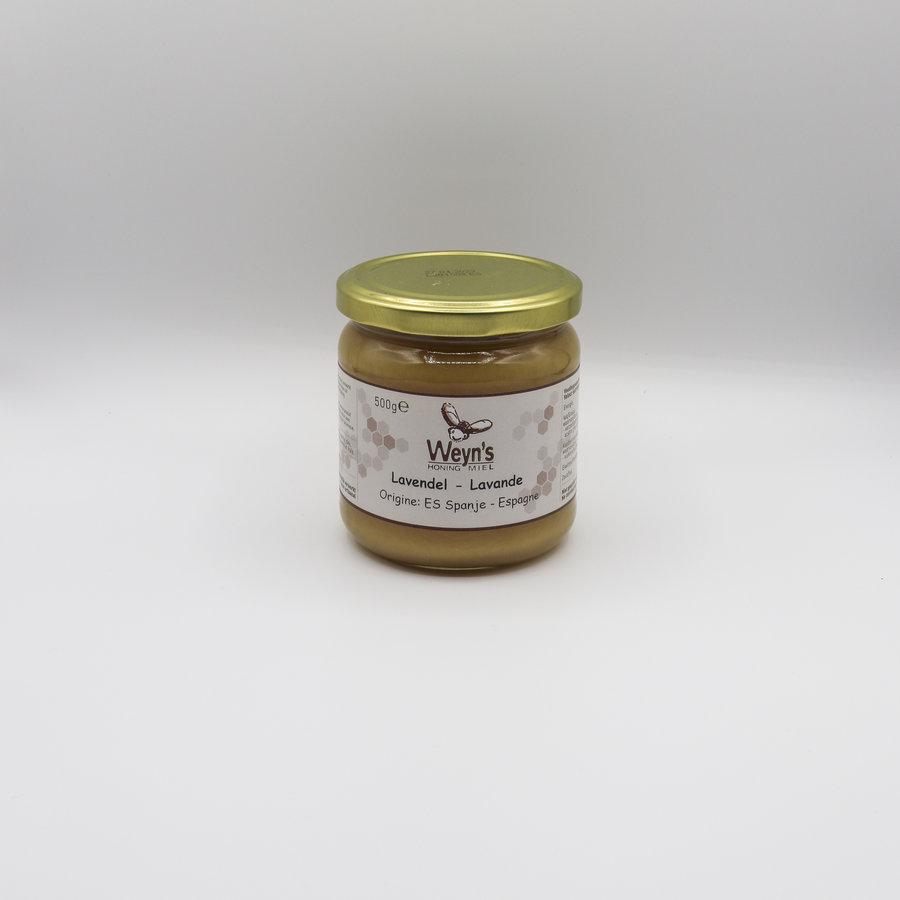 Lavendel honing vast