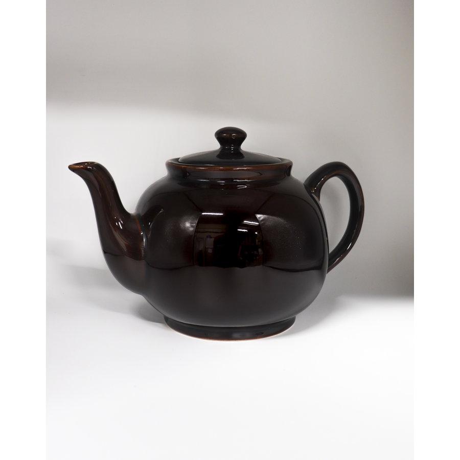 Zwarte theepot 1,2 Liter