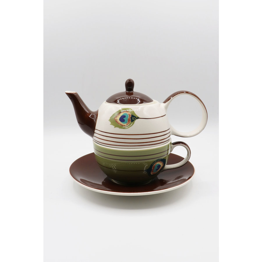 Tea for one Peacock