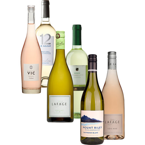 Desmaakvangoedewijn.nl Wijnpakket Fris Wit & Rosé