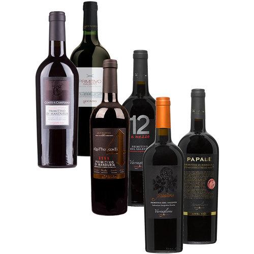 Desmaakvangoedewijn.nl Wijnpakket Primitivo