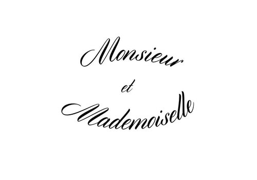 Monsieur Et Mademoiselle