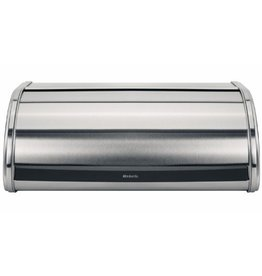 Brabantia BRABANTIA ROLL TOP MEDIUM BREAD BIN MATT STEEL / MATT STEEL SIDES