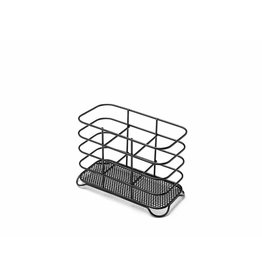 Addis ADDIS DELUXE WIRE 3 COMPARTMENT CUTLERY DRAINER BLACK