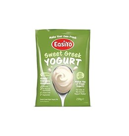 EasiYo EASIYO SWEET GREEK STYLE YOGURT 230G MAKES 1KG