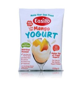 EasiYo EASIYO SWEETENED LOW FAT MANGO YOGURT 125G MAKES 1KG (DISC)
