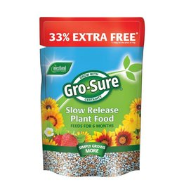 Westland WESTLAND GRO-SURE 6 MONTH SLOW RELEASE PLANT FOOD 1KG + 33% EXTRA FREE