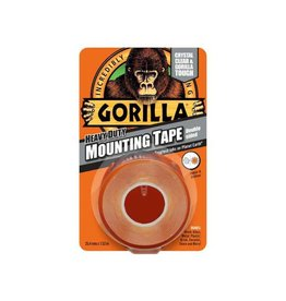 Gorilla GORILLA MOUNTING TAPE 1.5M CLEAR