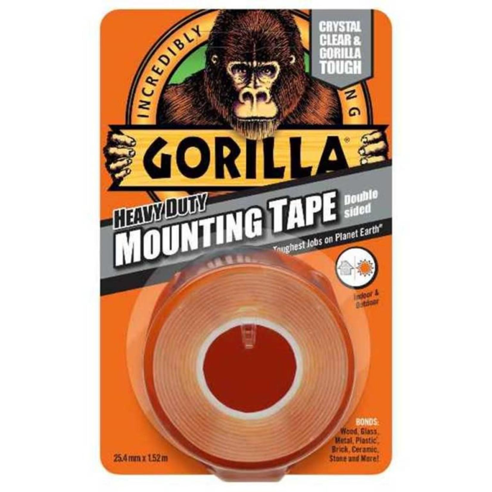 Gorilla GORILLA MOUNTING TAPE 1.5M CLEAR