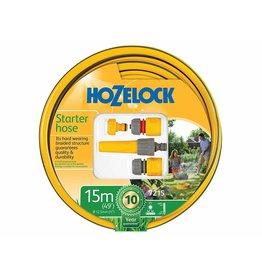 Hozelock 7215 HOZELOCK STARTER HOSE SET 15M WITH FITTINGS NOZZLE SET