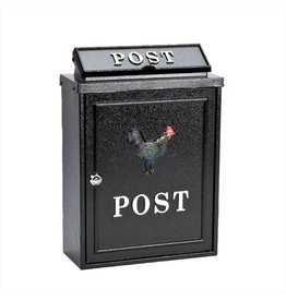 INGLENOOK POST33 ROOSTER POST MAIL BOX