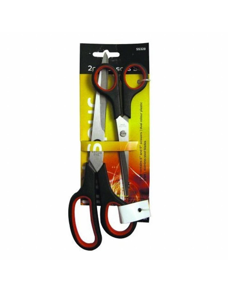 Blackspur BLACKSPUR 2 PC SCISSOR SET