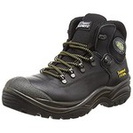 CONTRACTOR BOOT STEEL TOE TOECAP SAFETY BOOTS SIZE 44 (10) BLACK