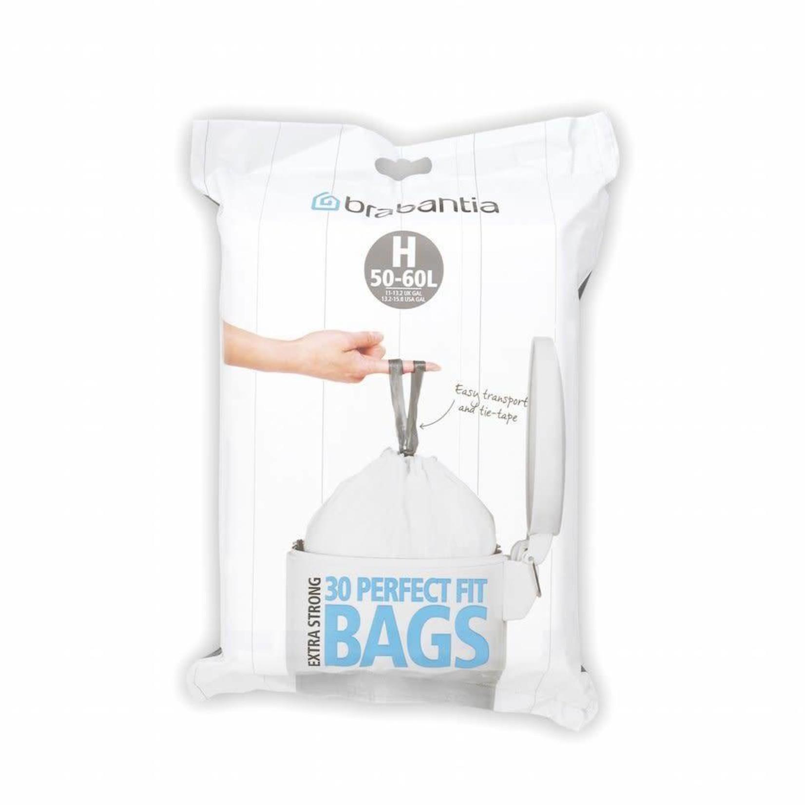 Brabantia BRABANTIA PERFECTFIT BAGS H, 50-60L [DISPENSER PACK 30 BAGS]