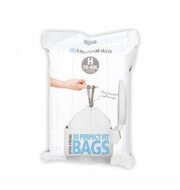 Brabantia BRABANTIA PERFECTFIT BAGS H, 40-50 LITRE [DISPENSER PACK OF 30 BAGS]