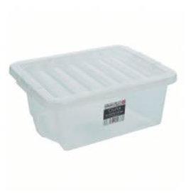 Wham CRYSTAL 16L BOX & LID CLEAR