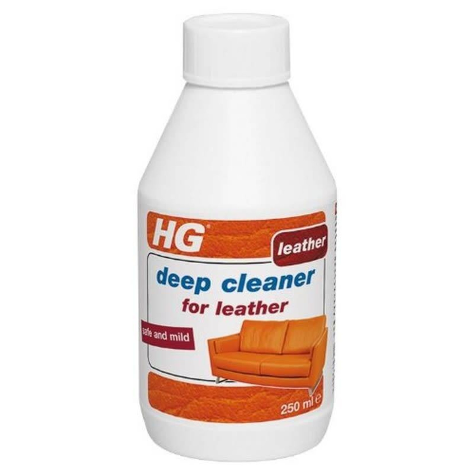 HG HG DEEP CLEAN FOR LEATHER SAFE AND MILD 250ML